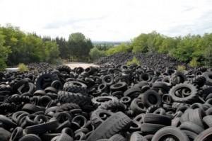 Les pneus en 2010 (photo Sud-Ouest)